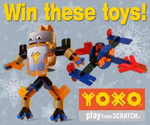 Win YOXO building sets
