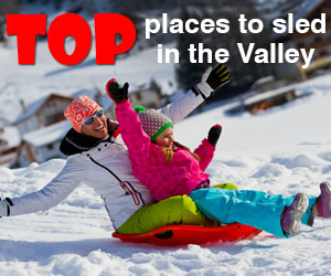 2015 Top Places for Sledding and Tubing