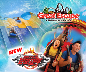 Six Flags Great Escape Lake George New York Family Fun Amusement Park