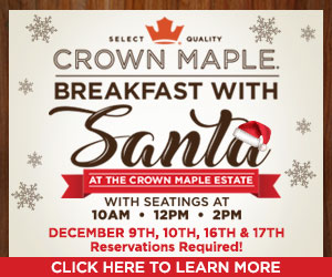Crown Maple Breakfast with Santa