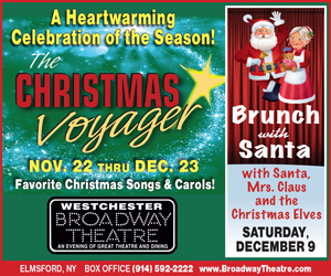 Westchester Broadway Theatre Brunch with Santa