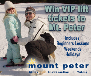 Mount Peter Giveaway Contest 2018