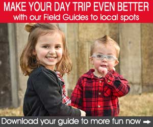 Make your day trip even better with our field guides APR18