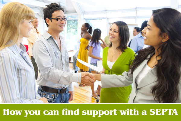 Find support with a SEPTA