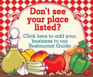 Don't see your place listed - restaurant guide DEC 18