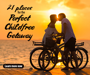 21 Places for the Perfect Childfree Getaway FEB19