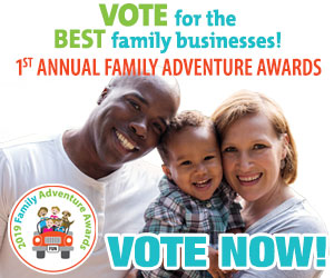 Family Adventure Awards Vote Now Feb19-Mar19