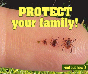 Protect your kids from ticks Jul19