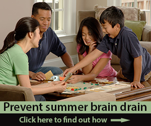 prevent summer brain drain Jul19