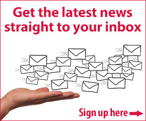 Get the latest news straight to your inbox