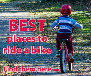 Best places to ride a bike