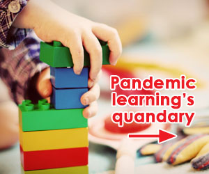 Pandemic learning's quandary