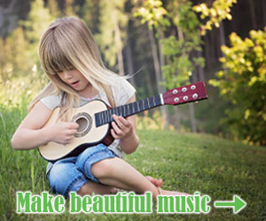 Make beautiful music with ukeleles