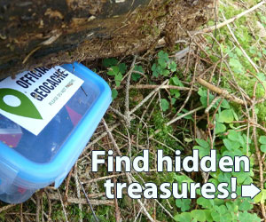 Find treasure on your next hike…guaranteed!