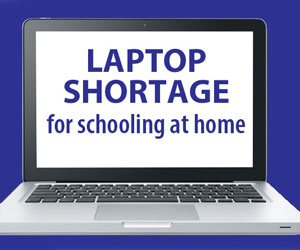 Schools (and parents) confront laptop shortage Sep20
