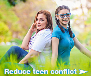 Loving your teen reduces conflict Sep20