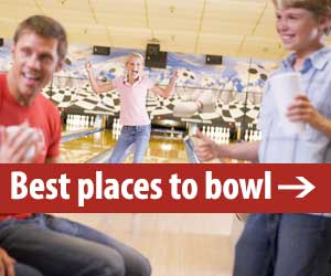 Top bowling alleys in the Hudson Valley