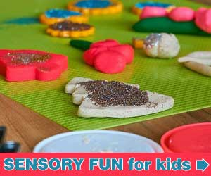 Tickle Their Senses. Play dough, slime and more!