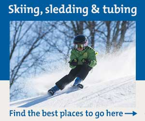 Best places to go skiing, sledding and tubing