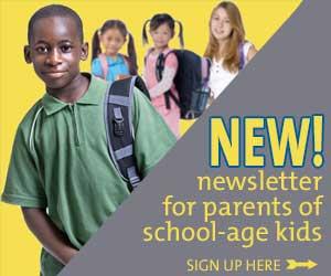 New newsletter signup School Age Kids