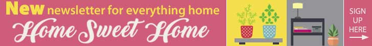 New newsletter signup Home Sweet Home