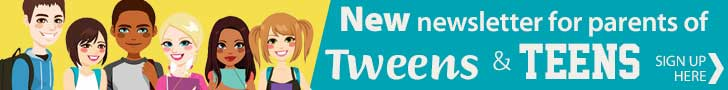 New newsletter signup Tweens and Teens Jan21