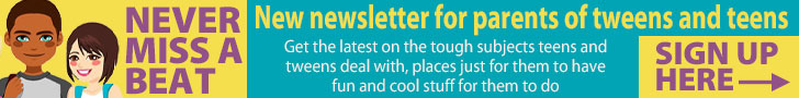 New newsletter signup Tweens and Teens Feb21