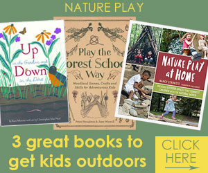 Three books to encourage healthy outdoor play