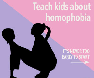 How and when to teach kids about homophobia