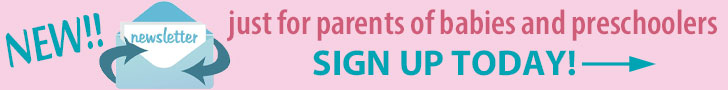 New newsletter signup Babies and Preschoolers