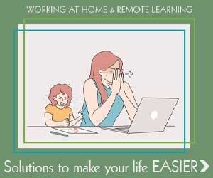 Tips for balancing working from home with remote learning