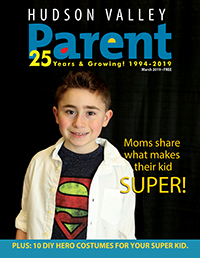 Child on magazine cover