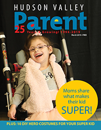 Child on magazine cover