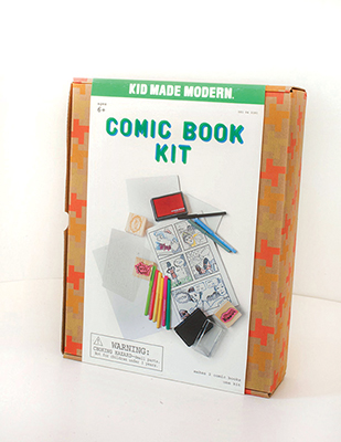 DIY comic book