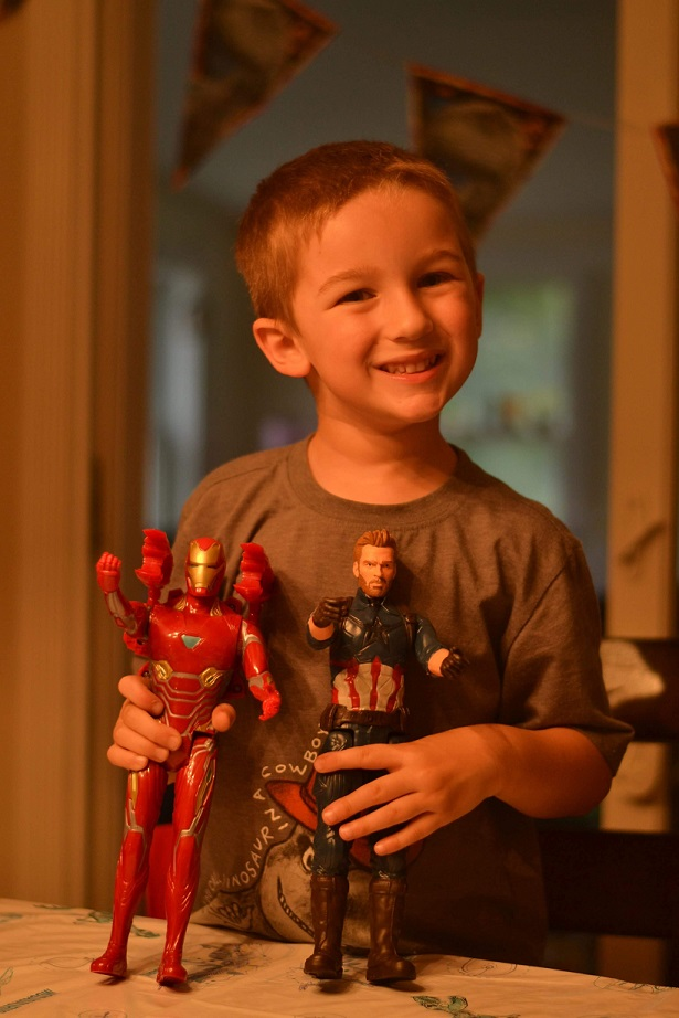 Action figure toys as favorite
