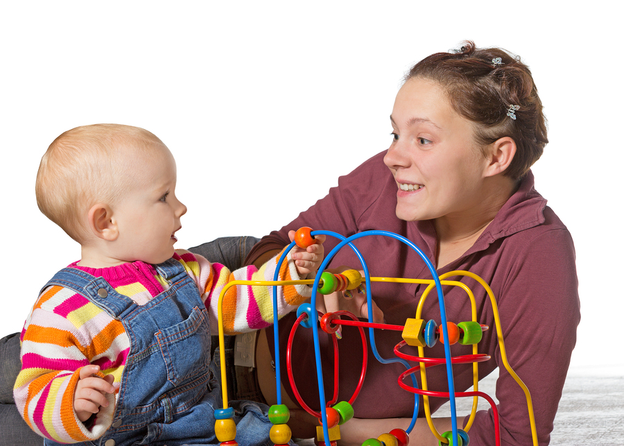 Mommy and Baby, Inexpensive fun for kids