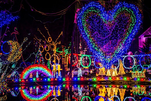 Hudson valley holiday light displays