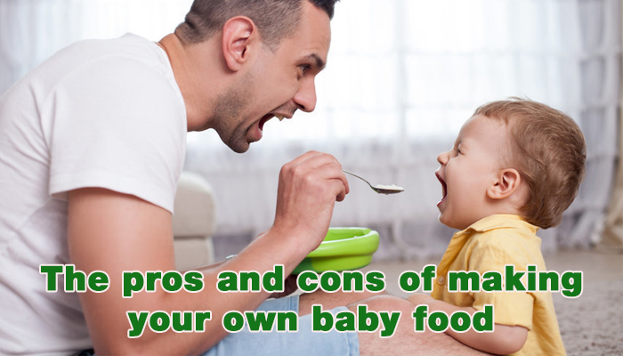 The Pros And Cons Of Making Your Own Baby Food