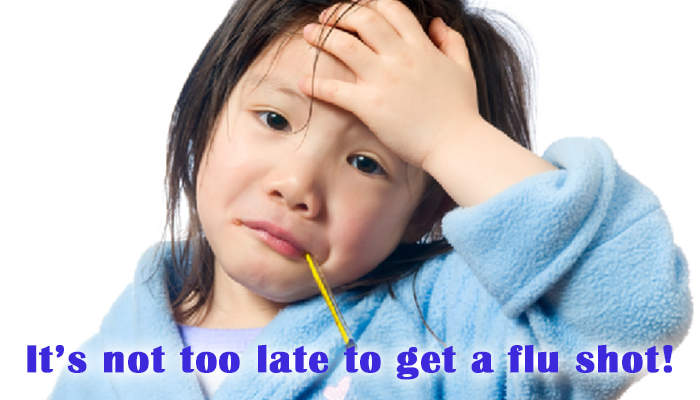 It's not too late to get a flu shot