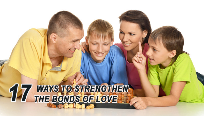 tips for stregthening family bond