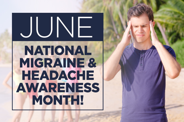 headaches, migraines, national migraine and headache awareness month, middletown medical