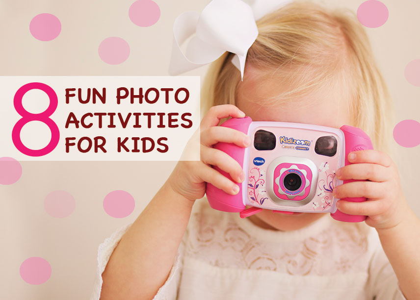 8 fun photo activities for kids