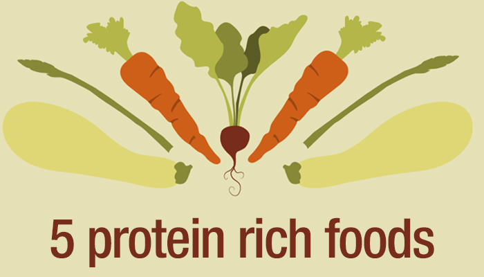 5 protein rich foods for vegetarian diets