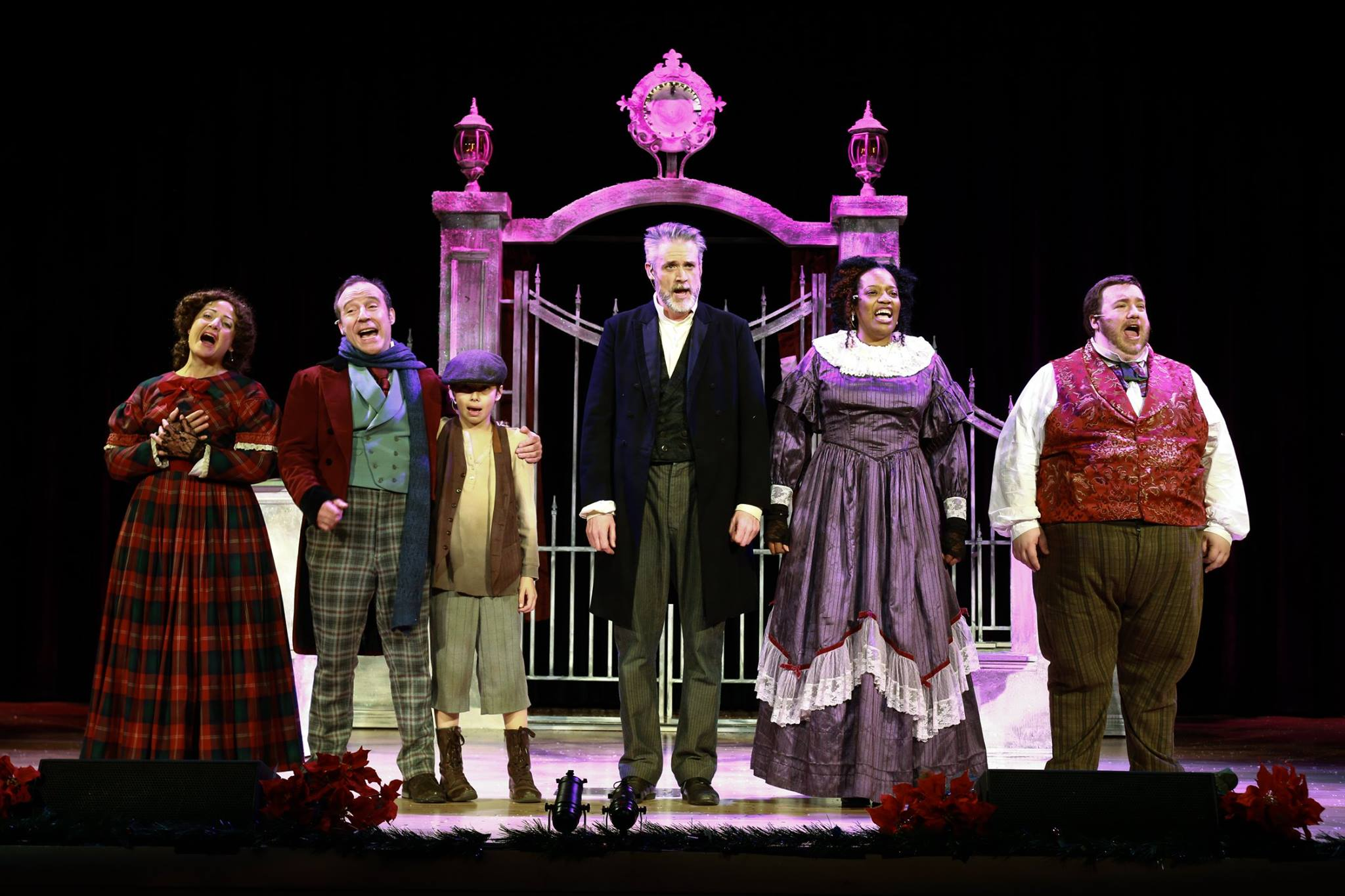 christmas carol musical in london