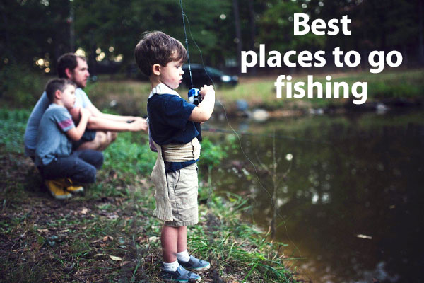 A list of places to go fishing in the Hudson Valley