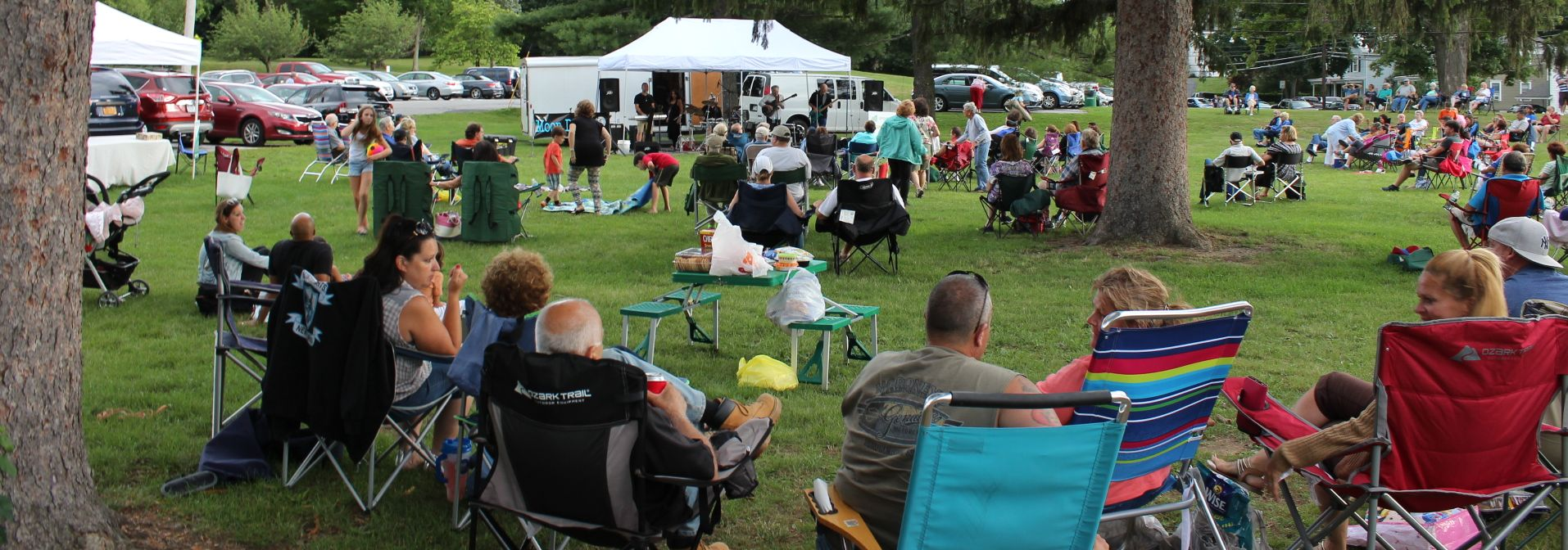 Cornwall music at the park family fun