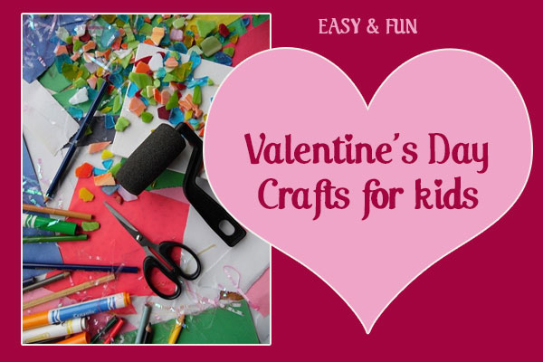 Crafty fun with these Valentine's Day ideas