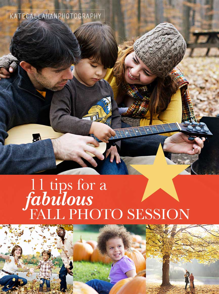 Fall Photo Tips, Fall family photos, Family Photo Tips