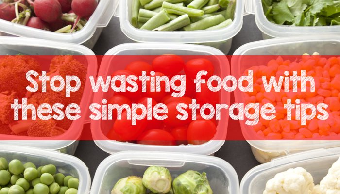 Food in the fridge, food storage, no more waste