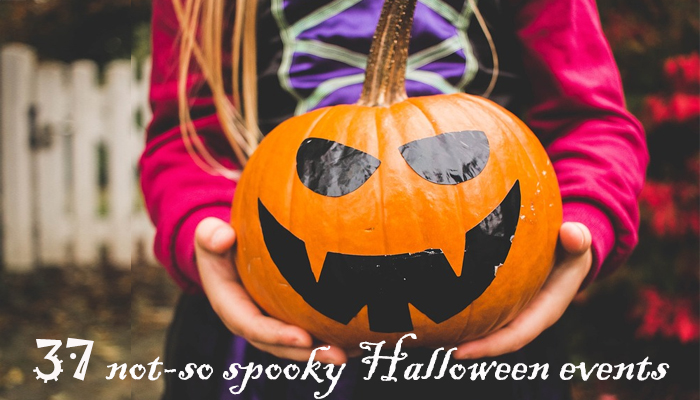 Halloween family friendly events list
